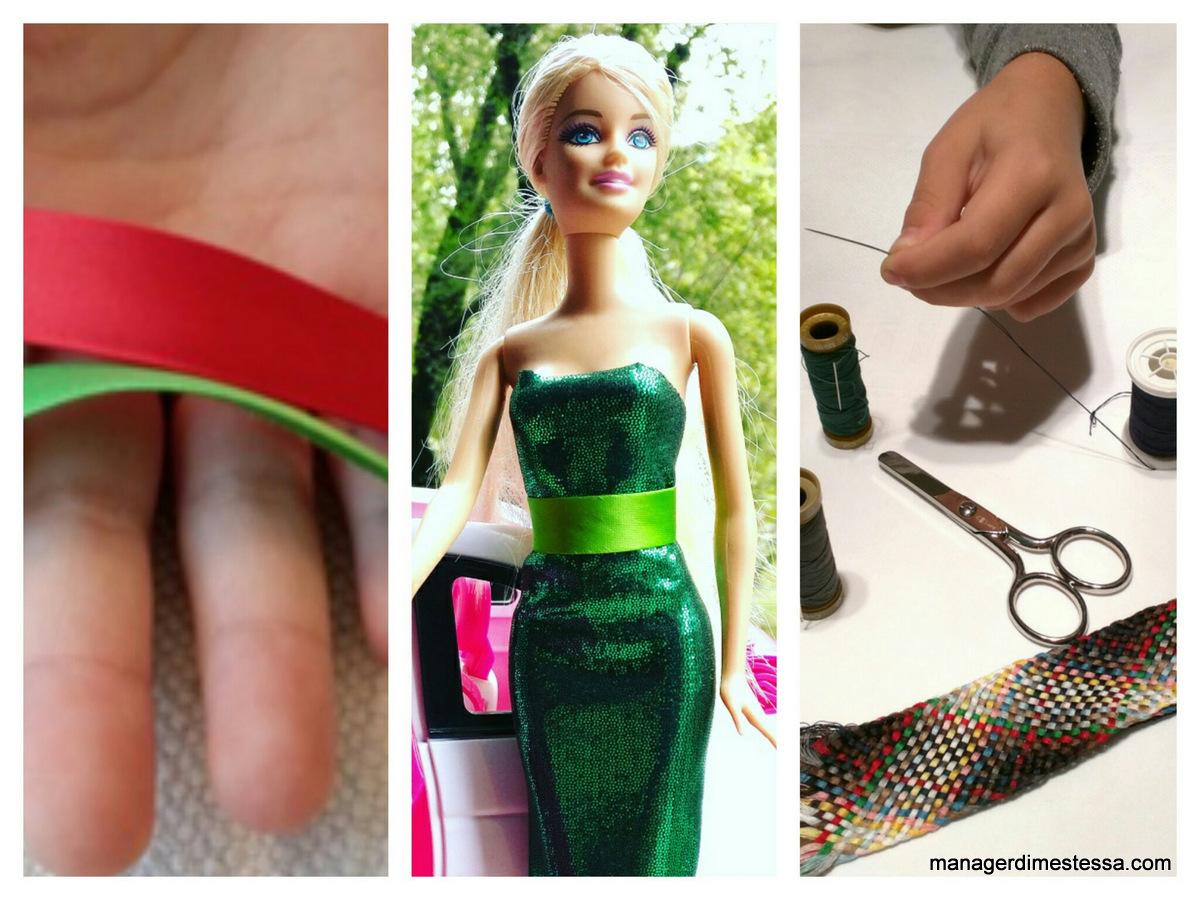 Vestiti barbie fai da te tutorial 2 quali tessuti for Oggetti per barbie fai da te